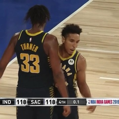 NBA on Instagram: @ ties it up at 118-118 + @turner_myles swats it away in the closing 4th Q seconds! #NBAIndiaGames (: @nbatv)