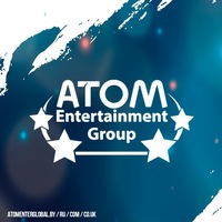 Логотип Atom entertainment: концертное агентство