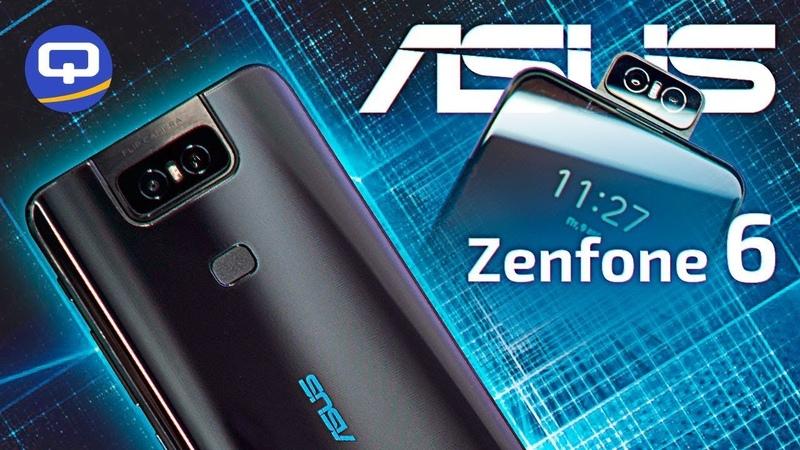 Обзор Asus Zenfone 6 с поворачивающейся камерой. / QUKE.RU /