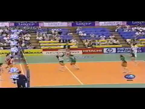 Evgenia Artamonova's Back row attack.. '95 GP