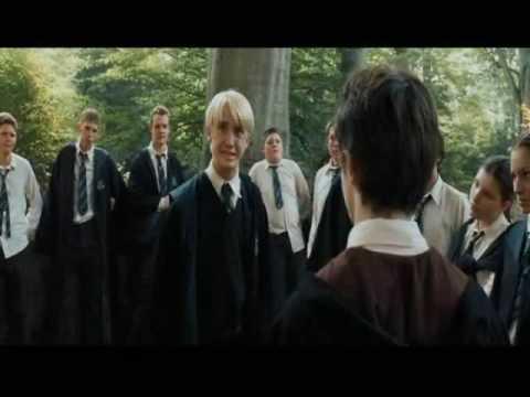 Draco Malfoy's poker face