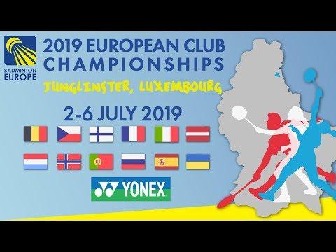 Quarter Finals - Day 4 (Court 1) - 2019 European Club Championships