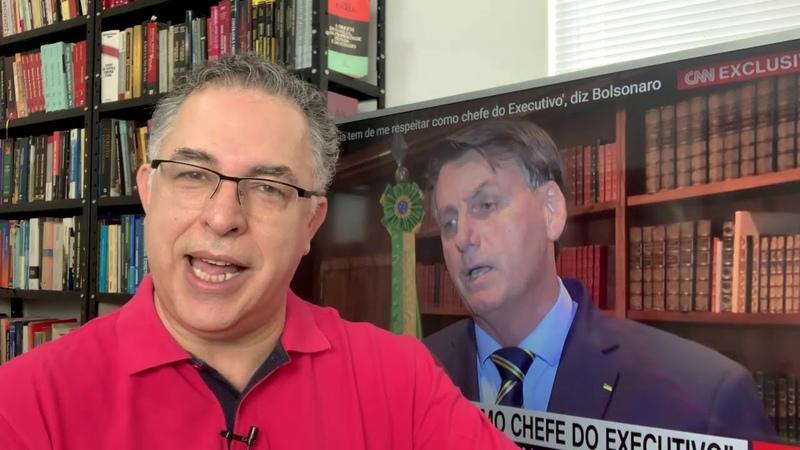 Crise alguém controla nossa cabeça Bolsonaro é apenas um ator Seus seguidores conhecem a verdade