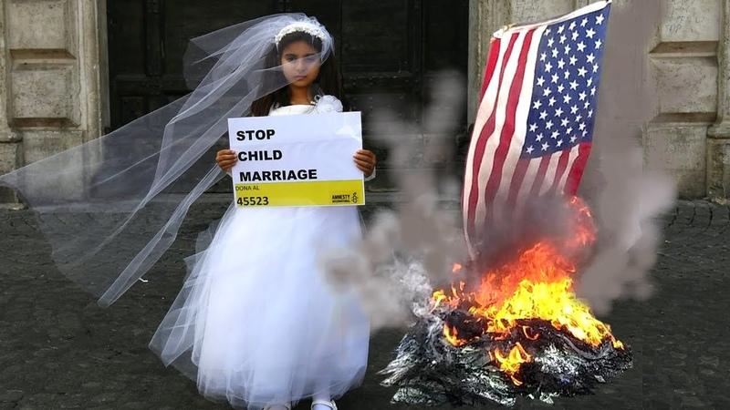 Pédophilie légalisée aux Etats-Unis, via les mariages forcés denfants