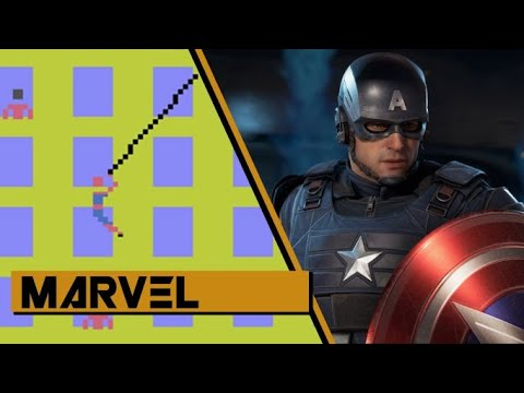 Evolution of Marvel Games 1982 2020