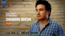 G'ayrat Usmonov - Omading bersin | Гайрат Усмонов - Омадинг берсин (music version)