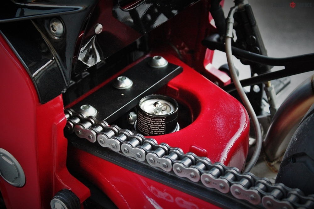 FMW Motorcycles: кастом Yamaha GTS 1000 Italian Resilience