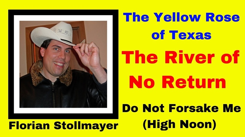 3 Western Songs (The Yellow Rose of Texas, The River of No Return and High Noon)