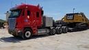 Вымирающая фура Гигант своего дела 2014 года Freightliner Argosy с двигaтелем САТ С16 600 HP