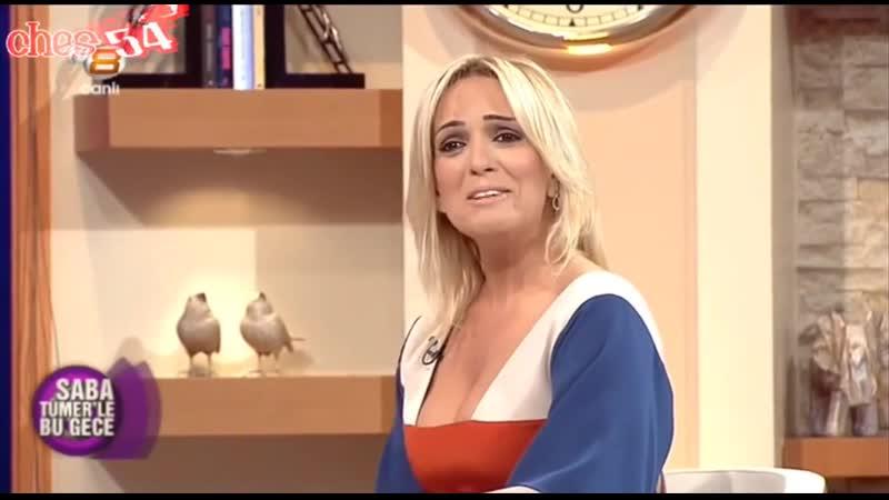 Saba Tümer Tuğba Özerk Dekolte Show - YouTube
