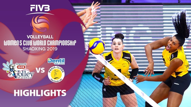 Igor Gorgonzola Novara vs Praia Clube Highlights Women's Volleyball Club World Champs 2019