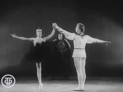Violetta Bovt and Maris Liepa Adagio from P I Tchaikovsky's ballet Swan lake