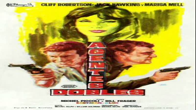 Cine clásico.- Agentes dobles.- (1965).Español