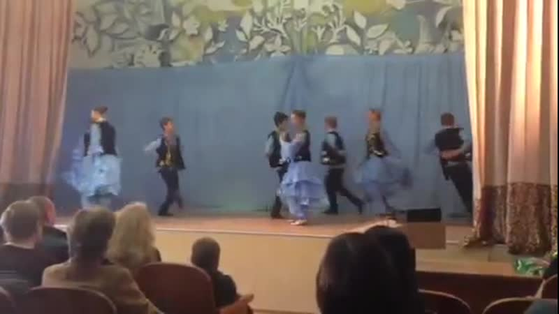 Татар халык биюе. Томски каласы