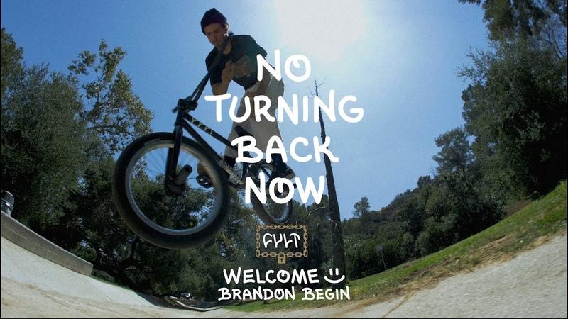 CULTCREW/ WELCOME BRANDON BEGIN/ NO TURNING BACK NOW insidebmx