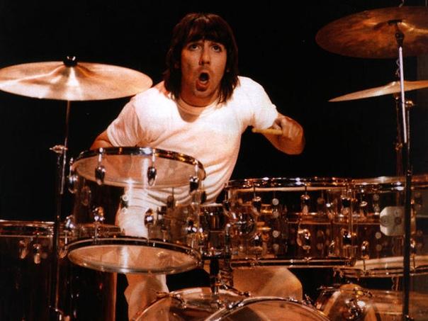 У Кита Муна не было никаких проблем с тем, чтобы привыкнуть к образу жизни рок-звезд