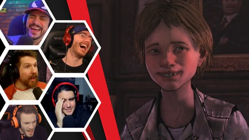 Let's Players Reaction To Why Willy Was Send To Ericson's Boarding School TWD Broken Toys