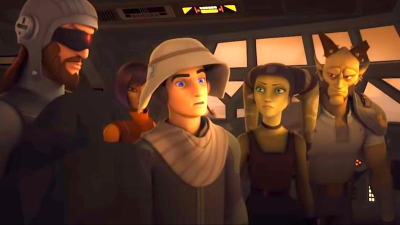 Звёздные войны Повстанцы Оккупация Star Wars Сезон 5 Серия 3