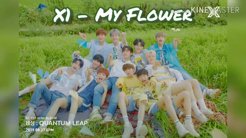 How would x1 sing my flower (jbj)