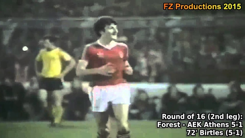 1978-1979 European Cup: Nottingham Forest FC All Goals (Road to Victory)