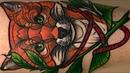 Fox Tattoo Traditional