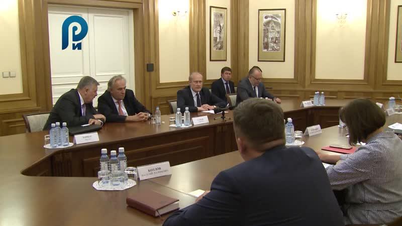 Встреча Губернатора Е.Куйвашева с Венгерскими партнерами