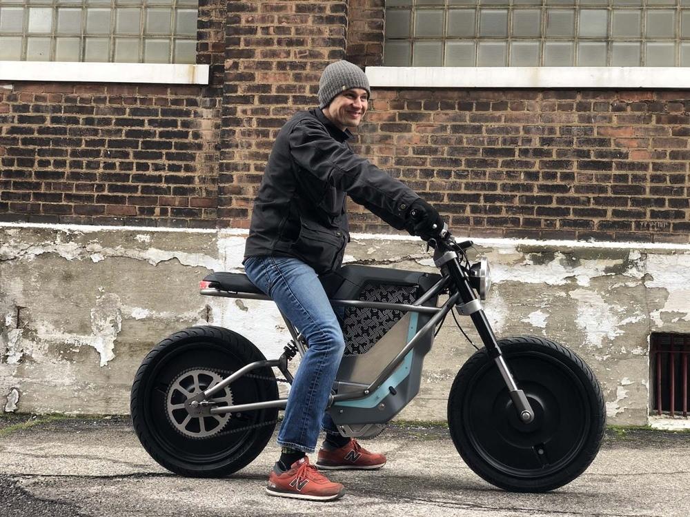 Электроцикл Cleveland Cyclewerks Falcon