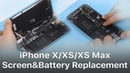 Repair Shop Tips iPhone XXSXS Max Screen and Battery Replacement