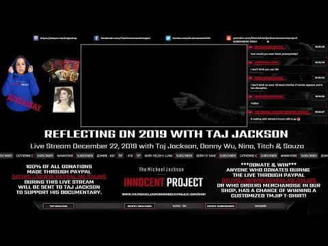 Reflecting on 2019 Live with Taj Jackson (Square One, The Truth Runs Marathons, Hollywood, 2020)