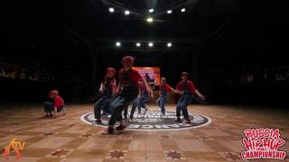 ДЕТИ ANGARA - JUNIOR CREW (SEMI) - RUSSIA HIP HOP DANCE CHAMPIONSHIP 2019