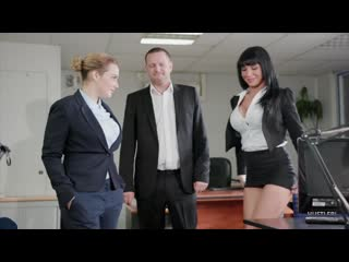 Hustler office sex / valentina ricci