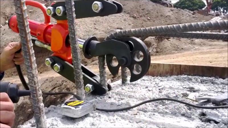 PB7135 JIMMY Portable Hydraulic Rebar Bender