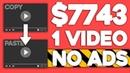 Make $500 Per YouTube Video You Repost (NO AD REVENUE)