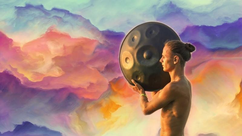 Hang Drum Tabla Flute Music Mystical Yoga Music Relaxing Music with Bird Sounds Rain смотреть онлайн без регистрации