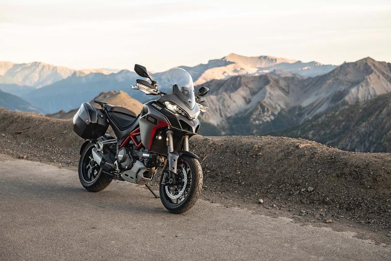 Туристический мотоцикл Ducati Multistrada 1260 S Grand Tour 2020