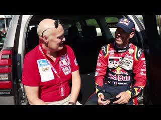 Метью Бомель и Toyota Land Cruiser Prado TRD