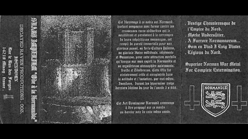 Svart Imperium - Ode À La Normandie (1998) (Raw Black Metal)