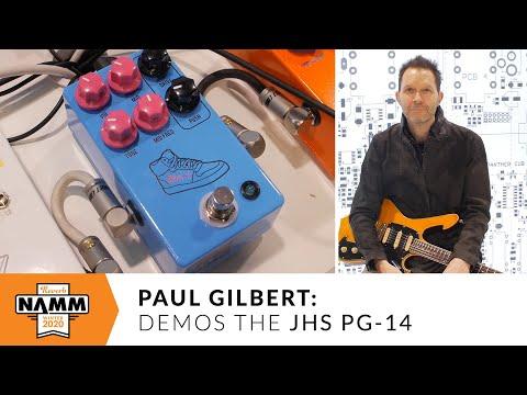 Paul Gilbert Demos His JHS Signature PG 14 Pedal at Winter NAMM 2020