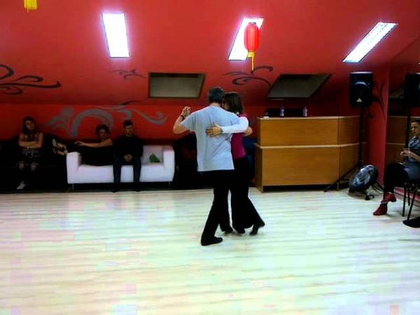 Fernando Jorge y Alexandra Baldaque (2) (Escuela Puro Tango, Moscú, 26.03.2012)