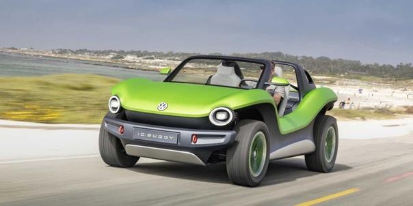 Volkswagen демонстрирует электробагги Концепт Volkswagen электрифицированного багги