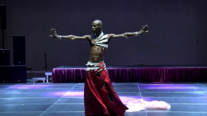 Rachid Alexander Male Belly Dancer танец живота