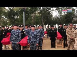Перезахоронение найденных останков советских солдат прошло на воинском кладбище