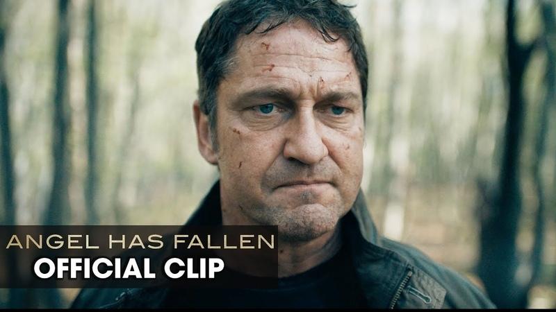"""Angel Has Fallen (2019 Movie) Official Clip """"Father/Son Reunion"""" — Gerard Butler, Nick Nolte"""
