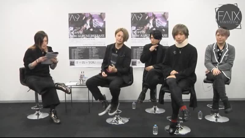 A9 Channel Special Edition for F IX=YOU on Nico Nico Douga 16 01 2018