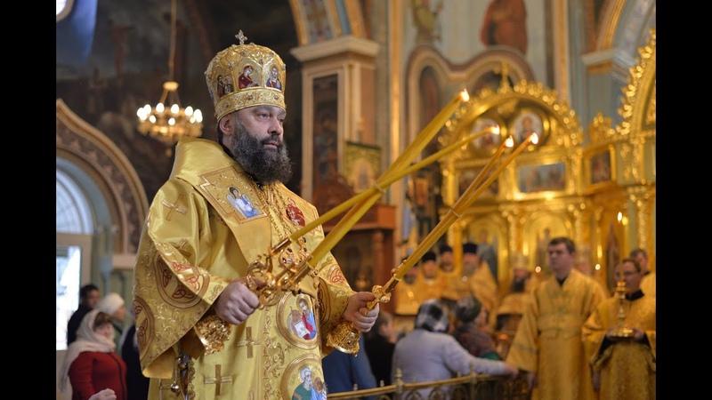 В день рождения архиепископа Тихона в Свято Троицком соборе Майкопа прошла Божественная Литургия