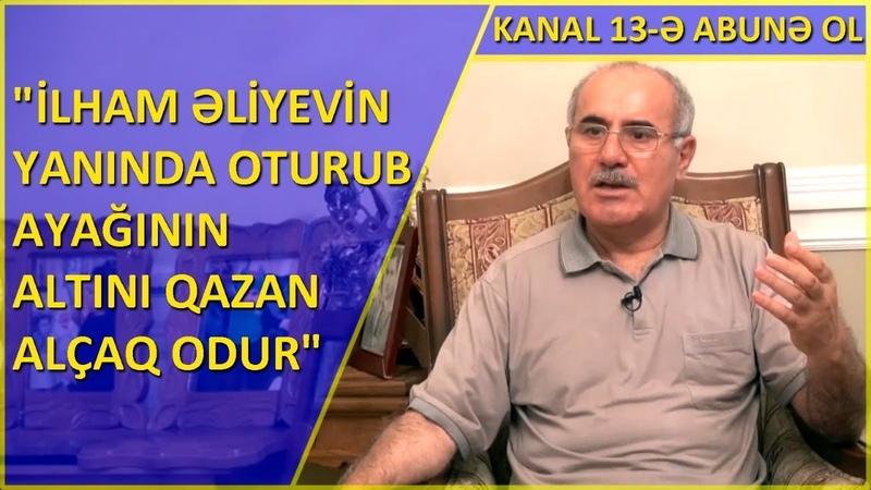 Mənim oğlumu 800 manatla şərləyib həbs etdirənin öz arvadı 500 min manat yeyib Eldar Sabiroğlu