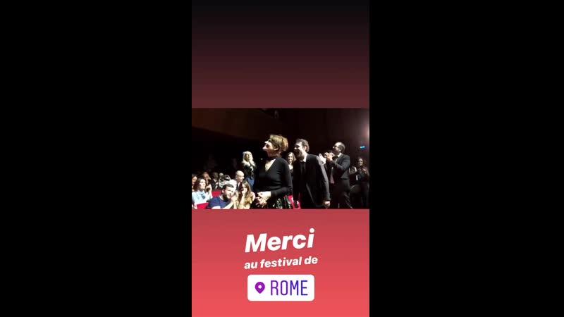 анни Ардан Fanny Ardant - Festival Internazionale del Film di Roma (20.10.2019)