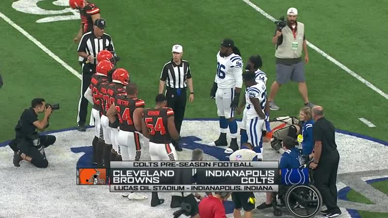 NFL 2019 PS Week 02 Cleveland Browns Indianapolis Colts EN