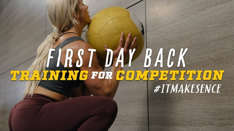 Brooke Ence Training for Competition First Day Back
