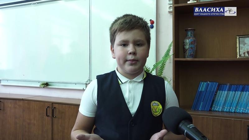 Дмитрий Голубков побывал на открытии класса робототехники в школе им. А.С. Попова